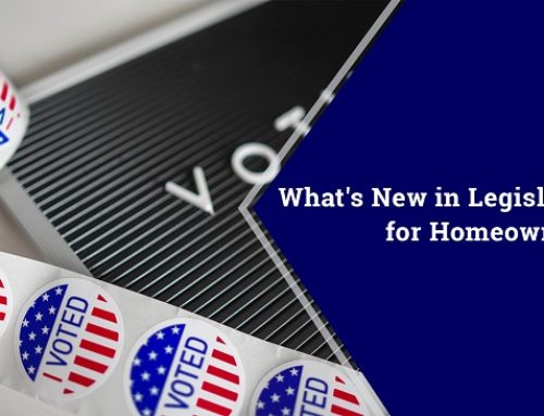 What's New in Legislation for Homeowners?