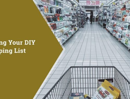 Making Your DIY Shopping List