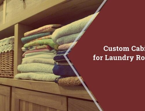 Custom Cabinets for Laundry Rooms!
